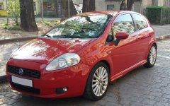 Group D: Fiat Grande Punto or similar